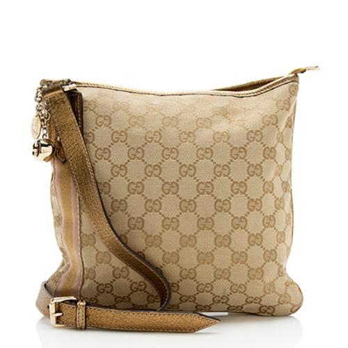 Gucci GG Canvas Jolicoeur Messenger Bag