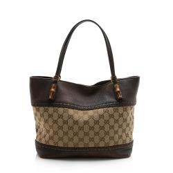 Gucci GG Canvas Laidback Crafty Medium Tote