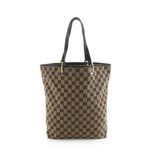 Gucci GG Canvas Large Bucket Tote