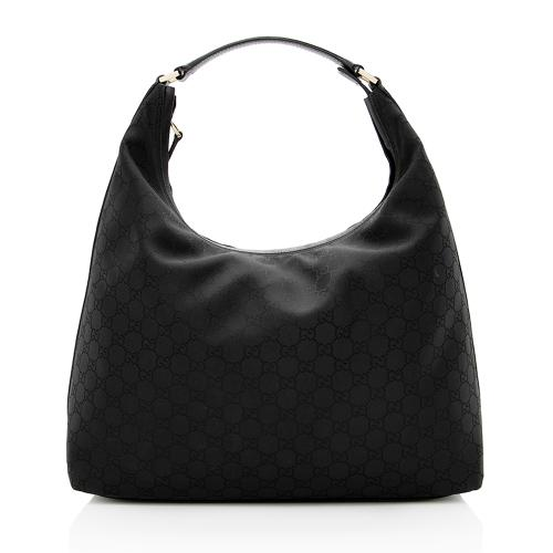 Gucci GG Canvas Large Hobo