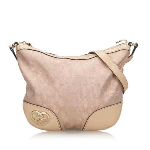 Gucci GG Canvas Lovely Crossbody Bag