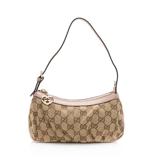 Gucci GG Canvas Lovely Pochette