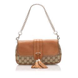 Gucci GG Canvas Marrakech Shoulder Bag