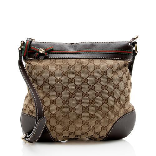 Gucci GG Canvas Mayfair Messenger Bag - FINAL SALE
