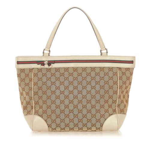 Gucci GG Canvas Mayfair Tote Bag