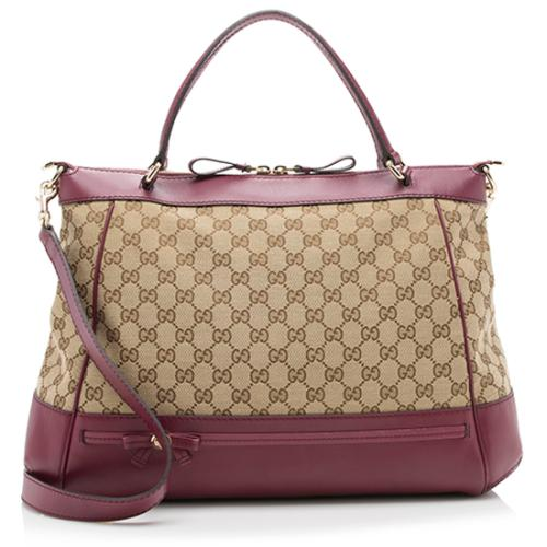 Gucci GG Canvas Mayfair Tote