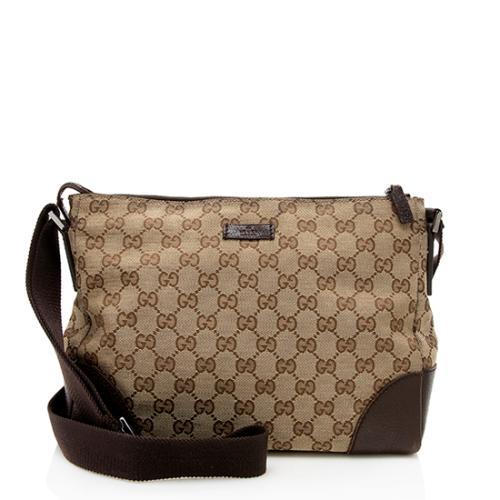 Gucci GG Canvas Medium Messenger Bag - FINAL SALE