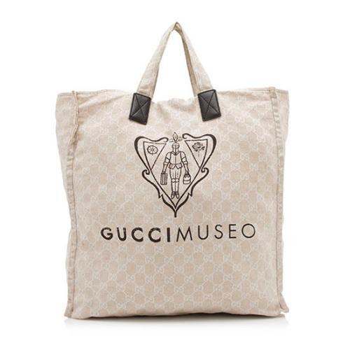 Gucci GG Canvas Museo Tote