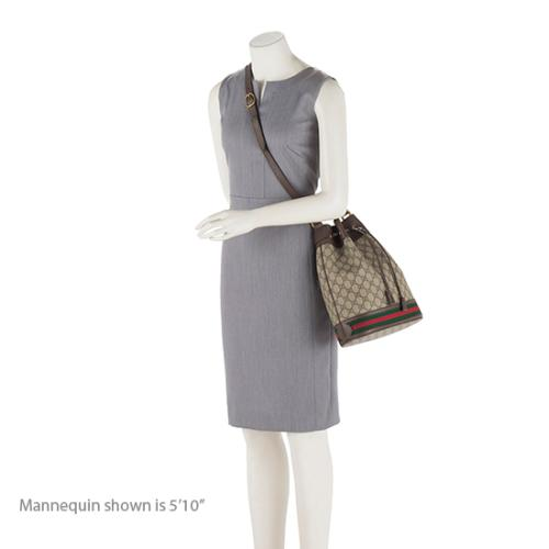 98fa3995 Gucci GG Supreme Ophidia Bucket Bag | Gucci Handbags | Bag Borrow or ...