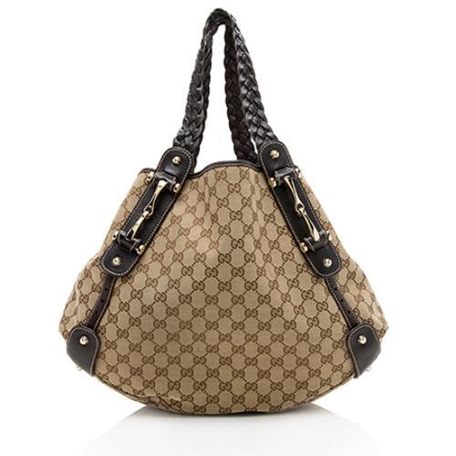 Gucci GG Canvas Pelham Medium Shoulder Bag - FINAL SALE