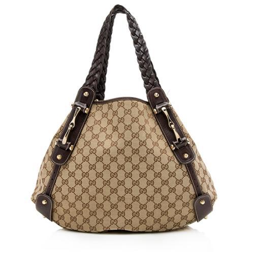 Gucci GG Canvas Pelham Medium Shoulder Bag