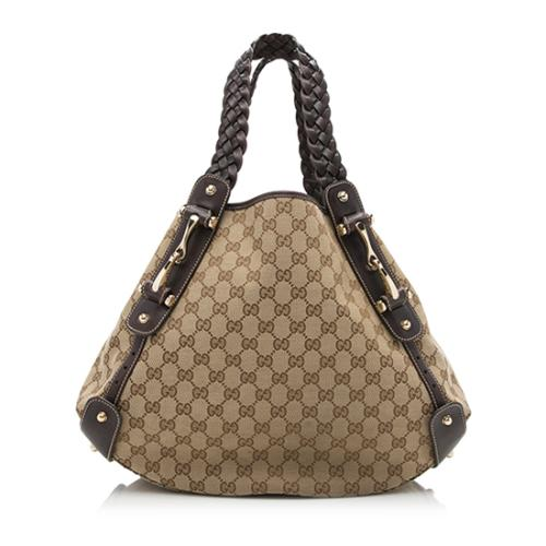 Gucci GG Canvas Pelham Medium Shoulder Bag