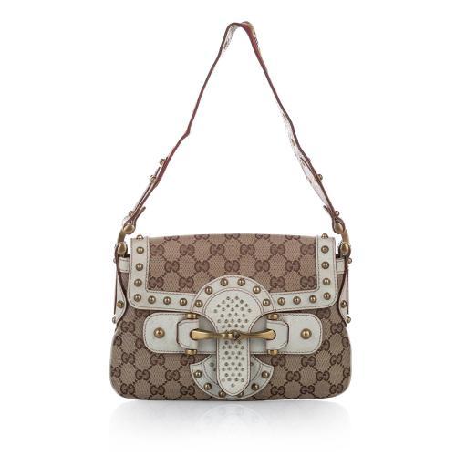 Gucci GG Canvas Pelham Runway Shoulder Bag