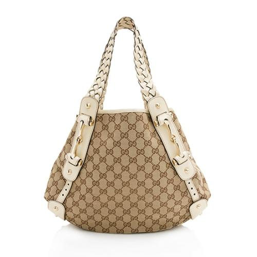 Gucci GG Canvas Pelham Small Shoulder Bag