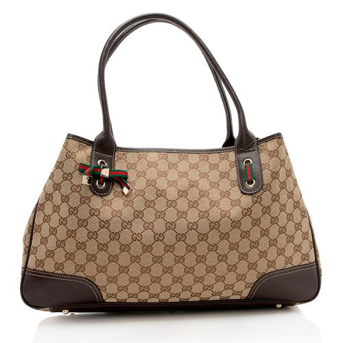 Gucci GG Canvas Princy Large Tote