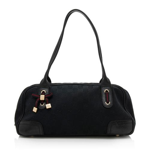 Gucci GG Canvas Princy Medium Boston Bag
