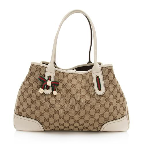 Gucci GG Canvas Princy Medium Tote