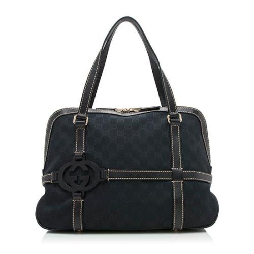 Gucci GG Canvas Royal Shoulder Bag
