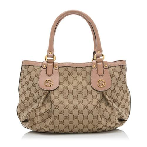 Gucci GG Canvas Scarlett Medium Tote
