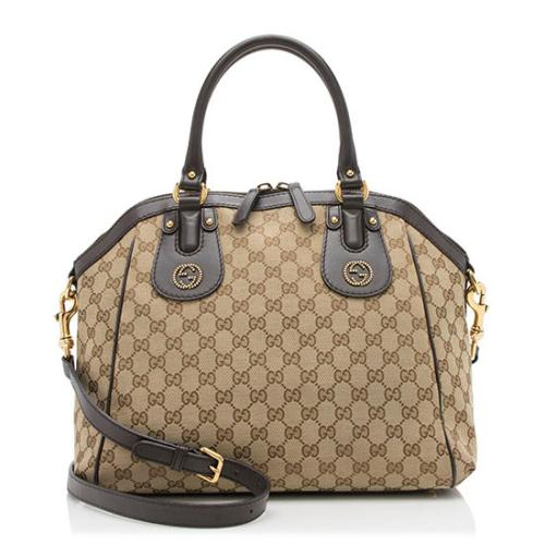 Gucci GG Canvas Scarlett Satchel