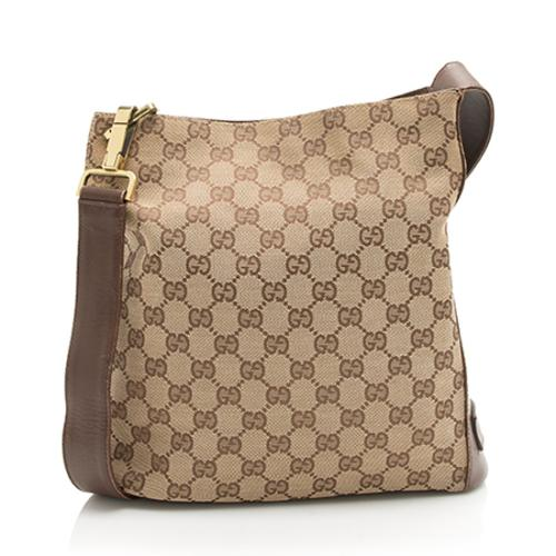 5880d351740 Gucci GG Canvas Shoulder Bag