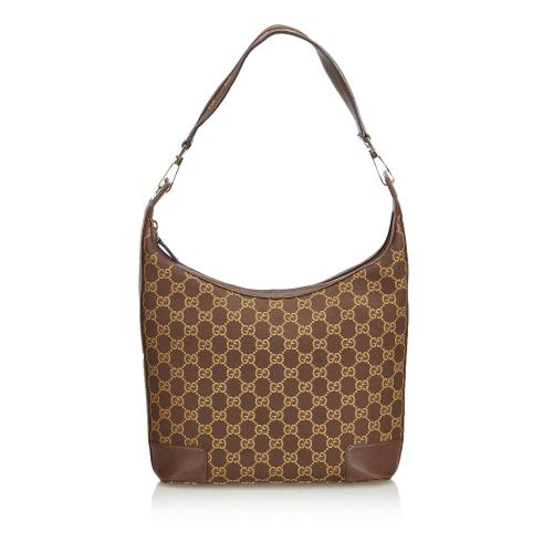 Gucci GG Canvas Shoulder Bag
