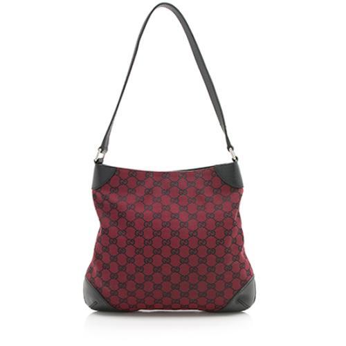 Gucci GG Canvas Signature Shoulder Bag