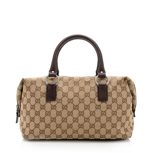 Gucci GG Canvas Small Satchel