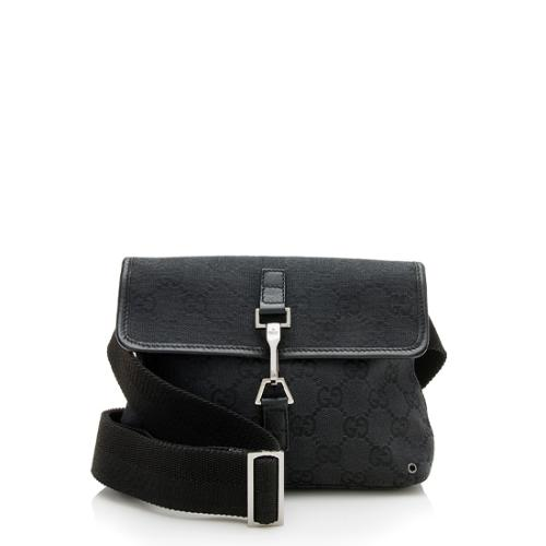 Gucci GG Canvas Small Waist Belt Bag