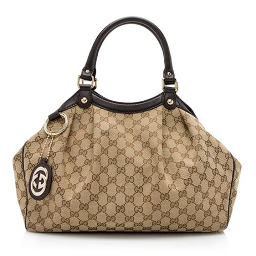 Gucci GG Canvas Sukey Medium Tote