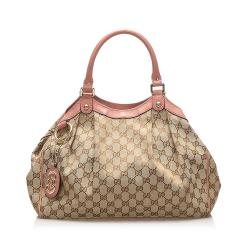 Gucci GG Canvas Sukey Tote Bag