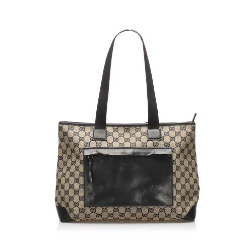Gucci GG Canvas Tote Bag