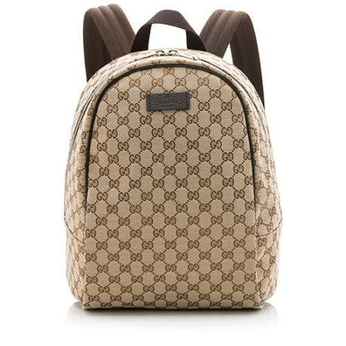 Gucci GG Canvas Travel Backpack
