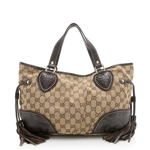 Gucci GG Canvas Tribeca Small Tote