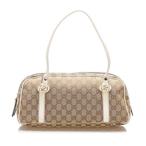 Gucci GG Canvas Twins Handbag