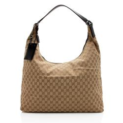 Gucci GG Canvas XL Travel Shoulder Bag