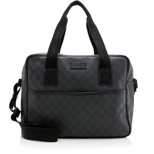 Gucci GG Coated Canvas Messenger Bag