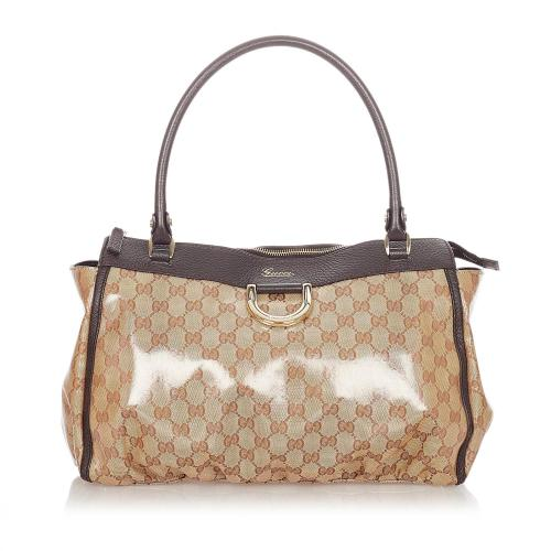 Gucci GG Crystal Abbey-D Ring Tote Bag