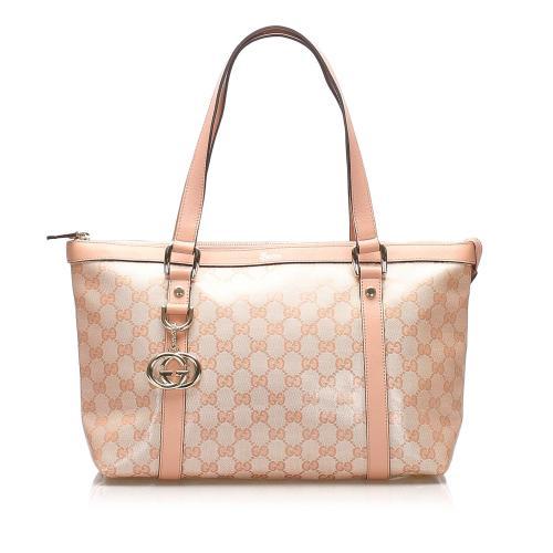 Gucci GG Crystal Abbey Tote Bag