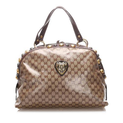 Gucci GG Crystal Babouska Shoulder Bag