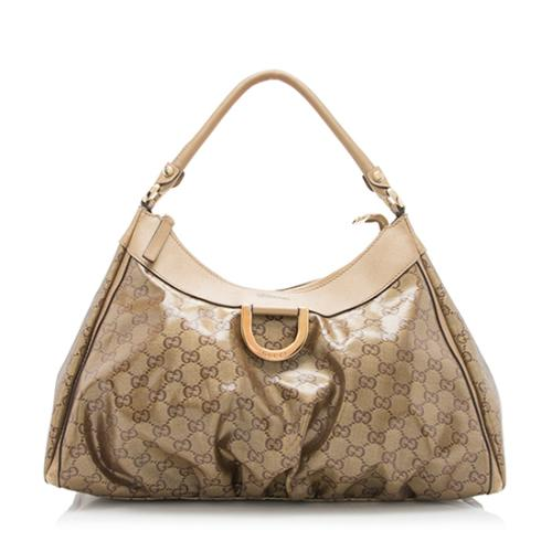 Gucci GG Crystal D Ring Large Hobo