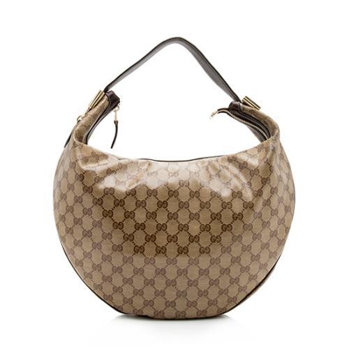 Gucci GG Crystal Duchessa Medium Hobo