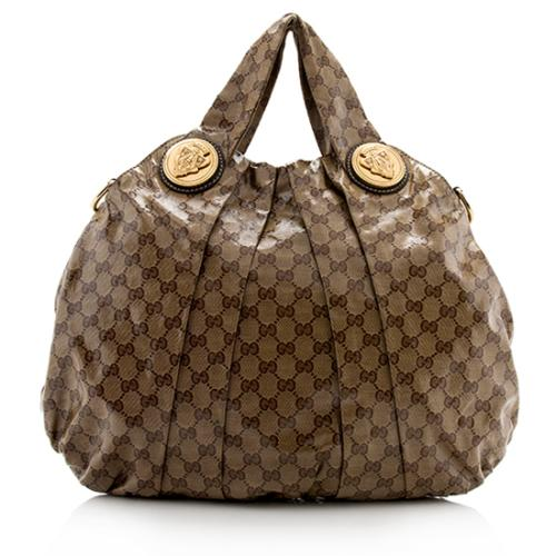 Gucci GG Crystal Hysteria Large Top Handle Tote