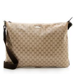 Gucci GG Crystal Large Messenger Bag