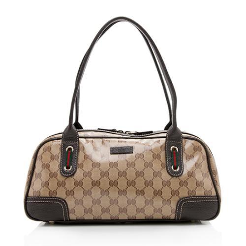 Gucci GG Crystal Princy Medium Boston Bag