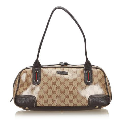 Gucci GG Crystal Web Princy Shoulder Bag