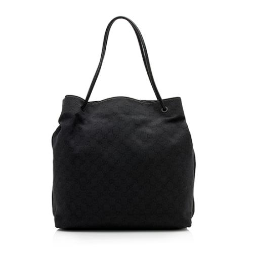 Gucci GG Denim Gifford Extra Large Tote