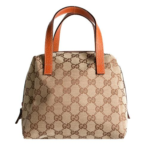 Gucci GG Fabric Balthus Cosmetic Handbag