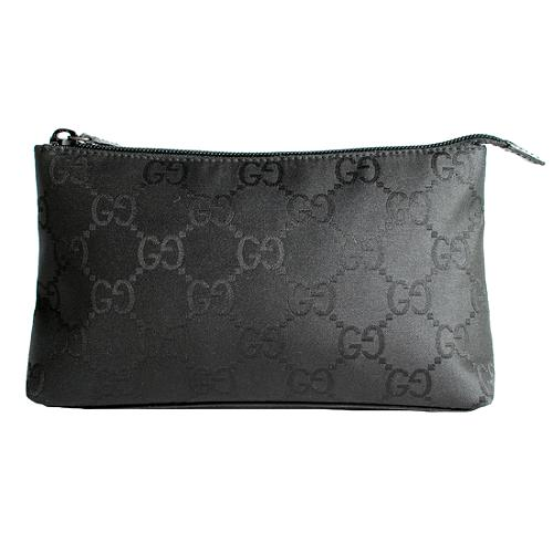 Gucci GG Fabric Large Cosmetic Case