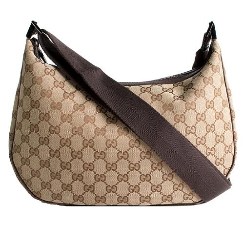 Gucci GG Fabric Medium Shoulder Handbag